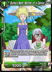 Bulma's Mom, Mother of a Genius - DB1-046 - C - Foil
