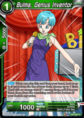 Bulma, Genius Inventor - DB1-047 - C - Foil on Channel Fireball