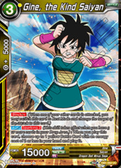 Gine, the Kind Saiyan - DB1-062 - UC