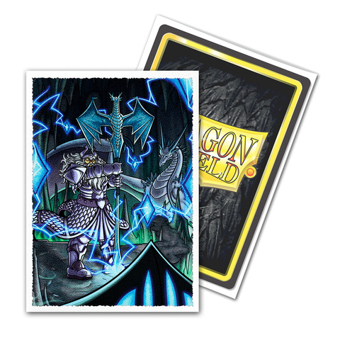 Dragon Shield Sleeves: Matte Art King Athromark III: Coat-of-Arms (Box of 100)