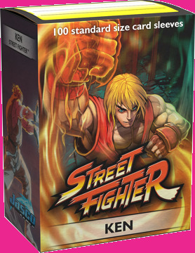Dragon Shield - Sleeves 100ct (Standard) - Art Classic STREET FIGHTER: KEN