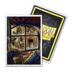 Dragon Shield Sleeves: Matte Art Christmas Dragon (Box of 100)