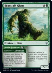 Beanstalk Giant // Fertile Footsteps