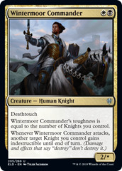 Wintermoor Commander - Foil