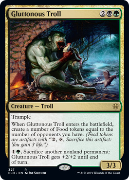 Gluttonous Troll - Brawl Deck Exclusive