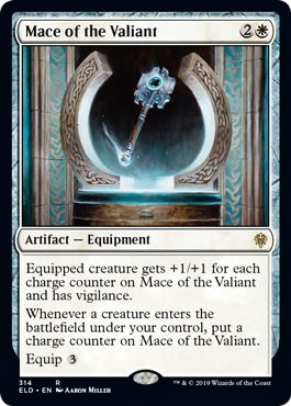 Mace of the Valiant - Brawl Deck Exclusive