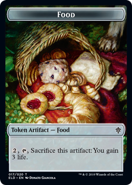 Food Token (017)