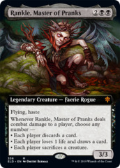 Rankle, Master of Pranks (Extended Art) - Foil