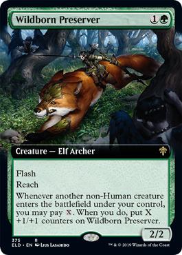 Wildborn Preserver (Extended Art) - Foil