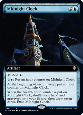 Midnight Clock (Extended Art) - Foil