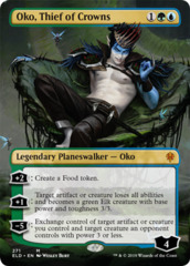 Oko, Thief of Crowns (Borderless) - Foil