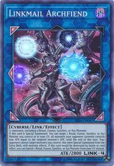 Linkmail Archfiend - RIRA-EN047 - Super Rare - Unlimited Edition