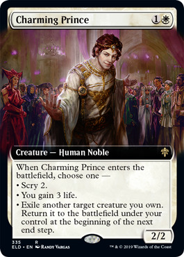 Charming Prince - Foil - Extended Art