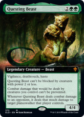 Questing Beast - Extended Art