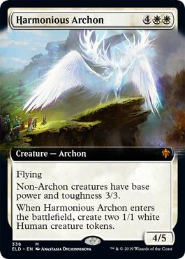 Harmonious Archon - Foil - Extended Art