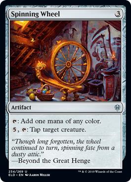 Spinning Wheel - Foil