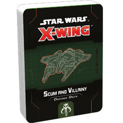 Star Wars X-Wing - 2nd Edition - Scum and Villainy Damage Deck