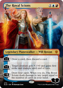 The Royal Scions (Borderless) - Foil