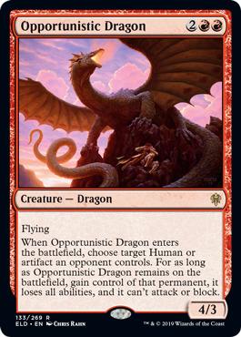 Opportunistic Dragon - Foil
