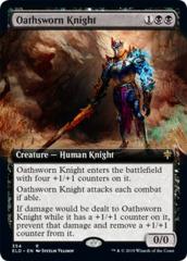 Oathsworn Knight - Foil - Extended Art