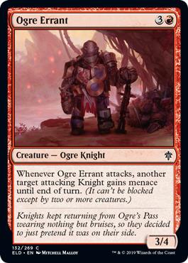 Ogre Errant - Foil