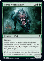 Fierce Witchstalker - Foil