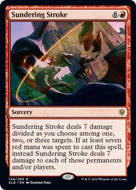 Sundering Stroke - Foil