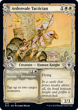 Ardenvale Tactician // Dizzying Swoop - Foil - Showcase
