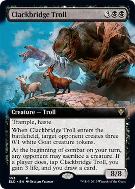 Clackbridge Troll - Extended Art