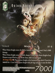 Onion Knight - 4-054L - Full Art - Starter Deck Exclusive