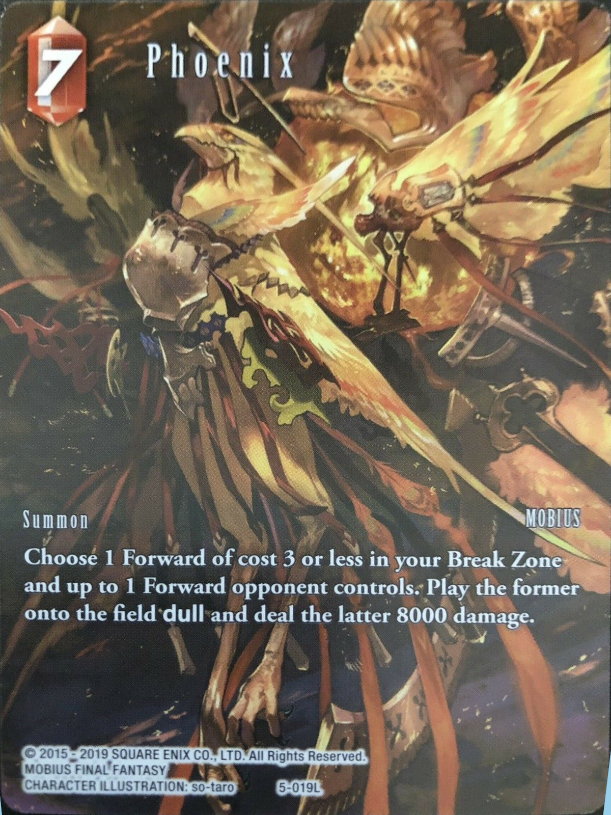 Phoenix - 5-019L - Full Art - Starter Deck Exclusive