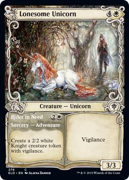 Lonesome Unicorn // Rider in Need - Showcase