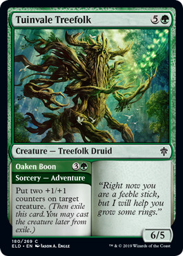 Tuinvale Treefolk // Oaken Boon