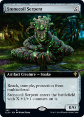 Stonecoil Serpent (Extended Art)