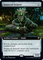 Stonecoil Serpent - Extended Art