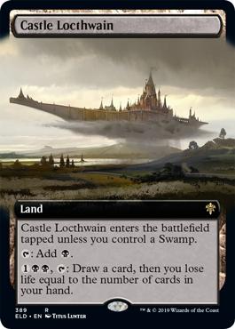 Castle Locthwain - Foil - Extended Art