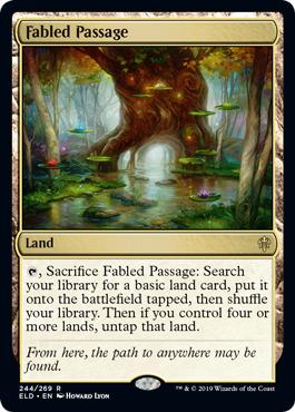 Fabled Passage - Foil