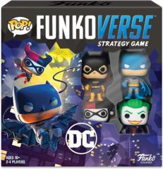 Pop! Funkoverse Strategy Game DC Comics 100 Base Set