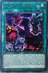 Perform Puppet - LED5-EN037 - Rare - 1st Edition on Channel Fireball