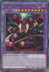 Starving Venom Fusion Dragon - LED5-EN052 - Rare - 1st Edition