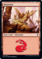 Mountain (262) - Foil (ELD)