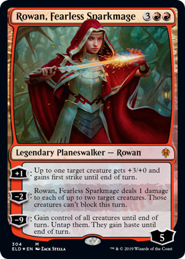 Rowan, Fearless Sparkmage - Collector Pack Exclusive