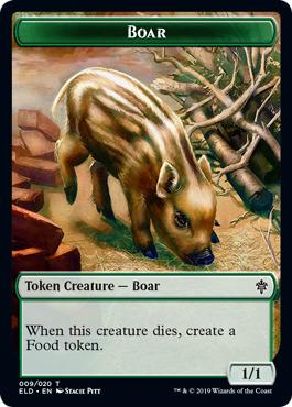 Boar Token - Foil