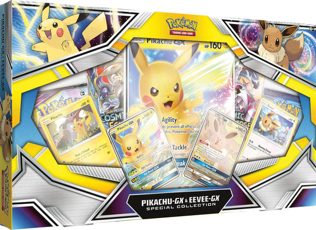Pikachu GX & Eevee GX Special Collection
