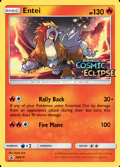 Entei - SM219 - Prerelease Promo - SM Black Star Promo