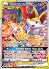 Charizard & Braixen GX - SM230 - SM Black Star Promo
