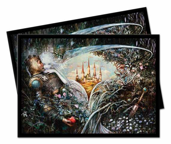 Ultra Pro - Throne of Eldraine Deck Protector Sleeves - Enchantment
