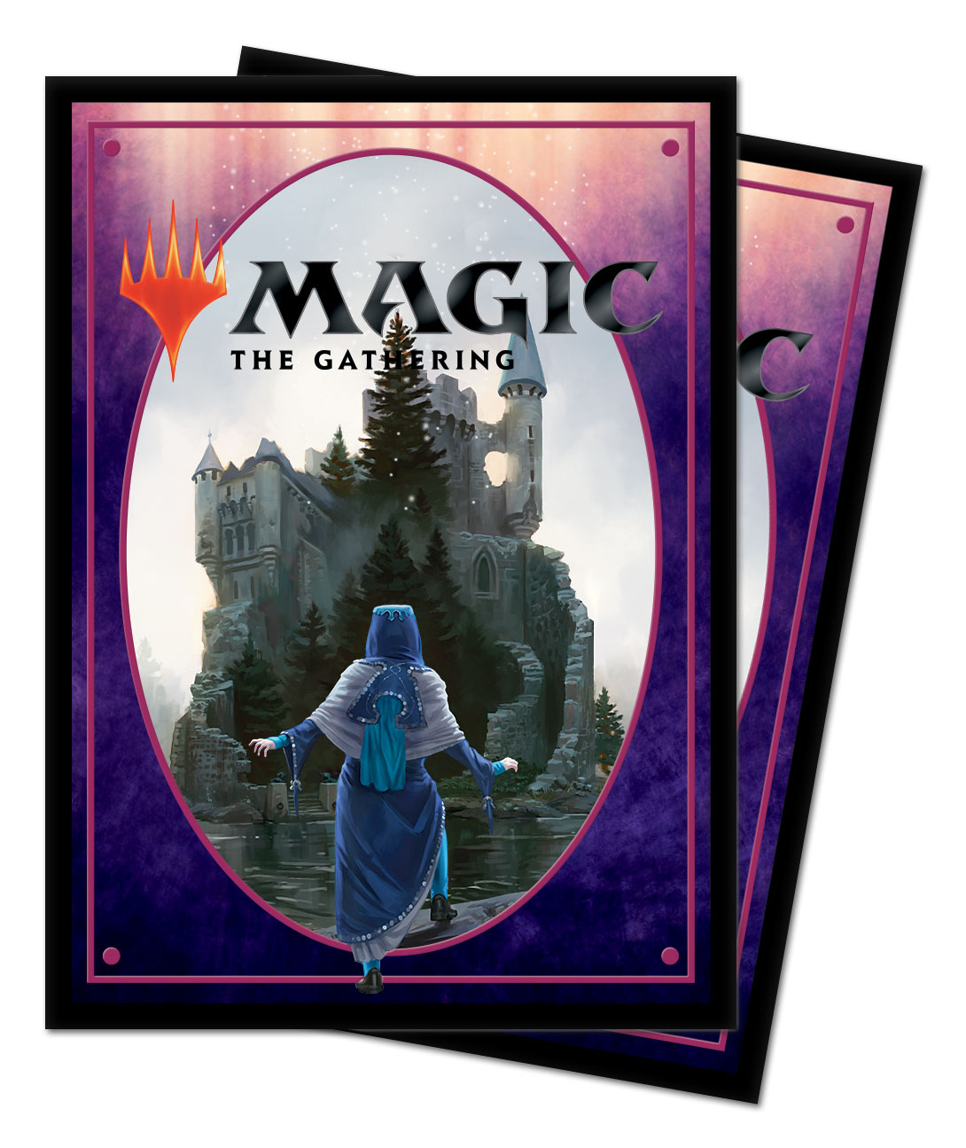 Ultra Pro Standard Deck Protector Sleeves Throne of Eldraine Into the Story 100ct