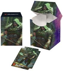 Ultra Pro - Throne of Eldraine - PRO 100+ Deck Box - Garruk, Cursed Huntsman