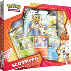 Galar Collection - Scorbunny w/ Zacian